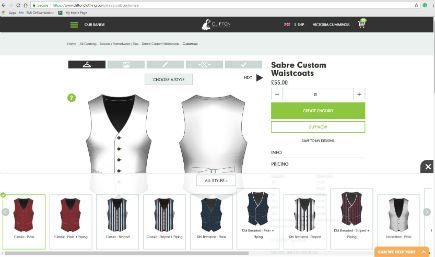 Customise Your Wedding Waistcoat
