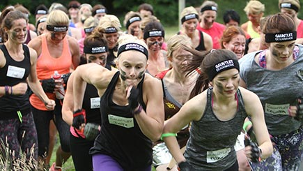 Logo print sweatbands stand out at races
