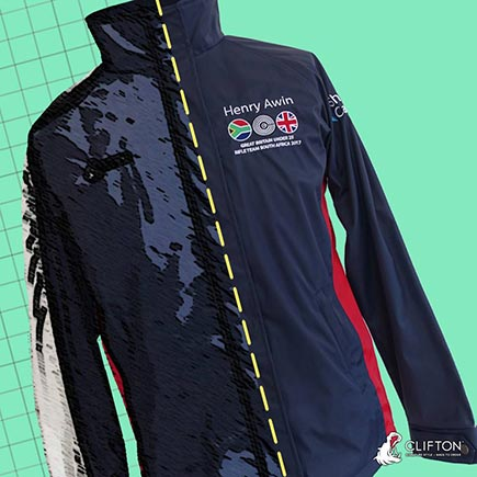 Custom jacket and gifts for winter sports kit