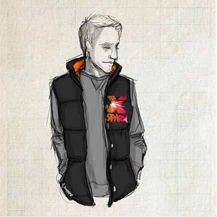 Create your own padded gilet