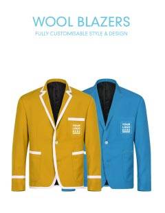 Design Blazers | Customised Twill Club Blazers For Men Clifton