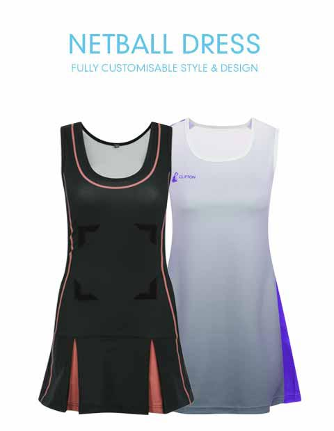 b707d71d13d Custom Netball Dresses, Patches, Clothing & Accessories | CLIFTON
