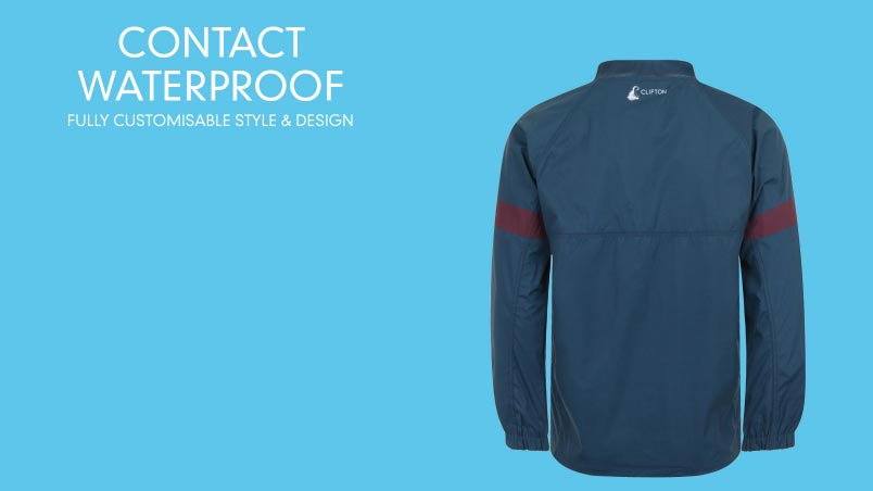 Waterproof Contact Training Smock Tops Clifton