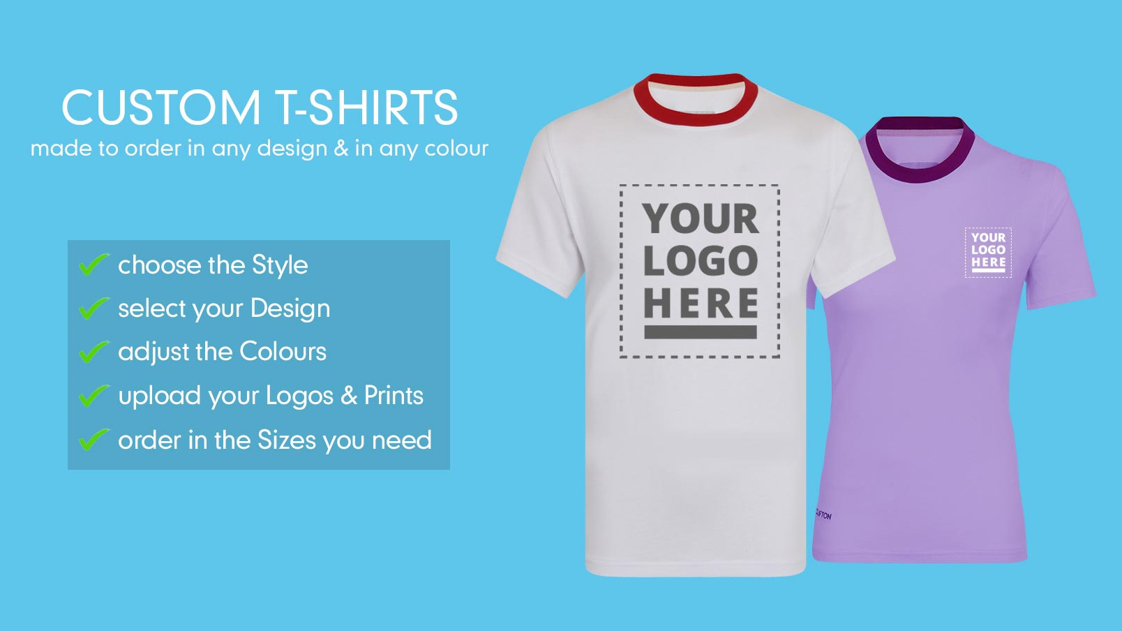 Personalised Custom T Shirts Create Your Own T Shirts Clifton