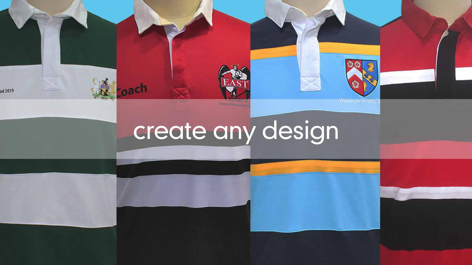 855f6eb54f5 Custom Retro Look Leisure Rugby Jersey | CLIFTON