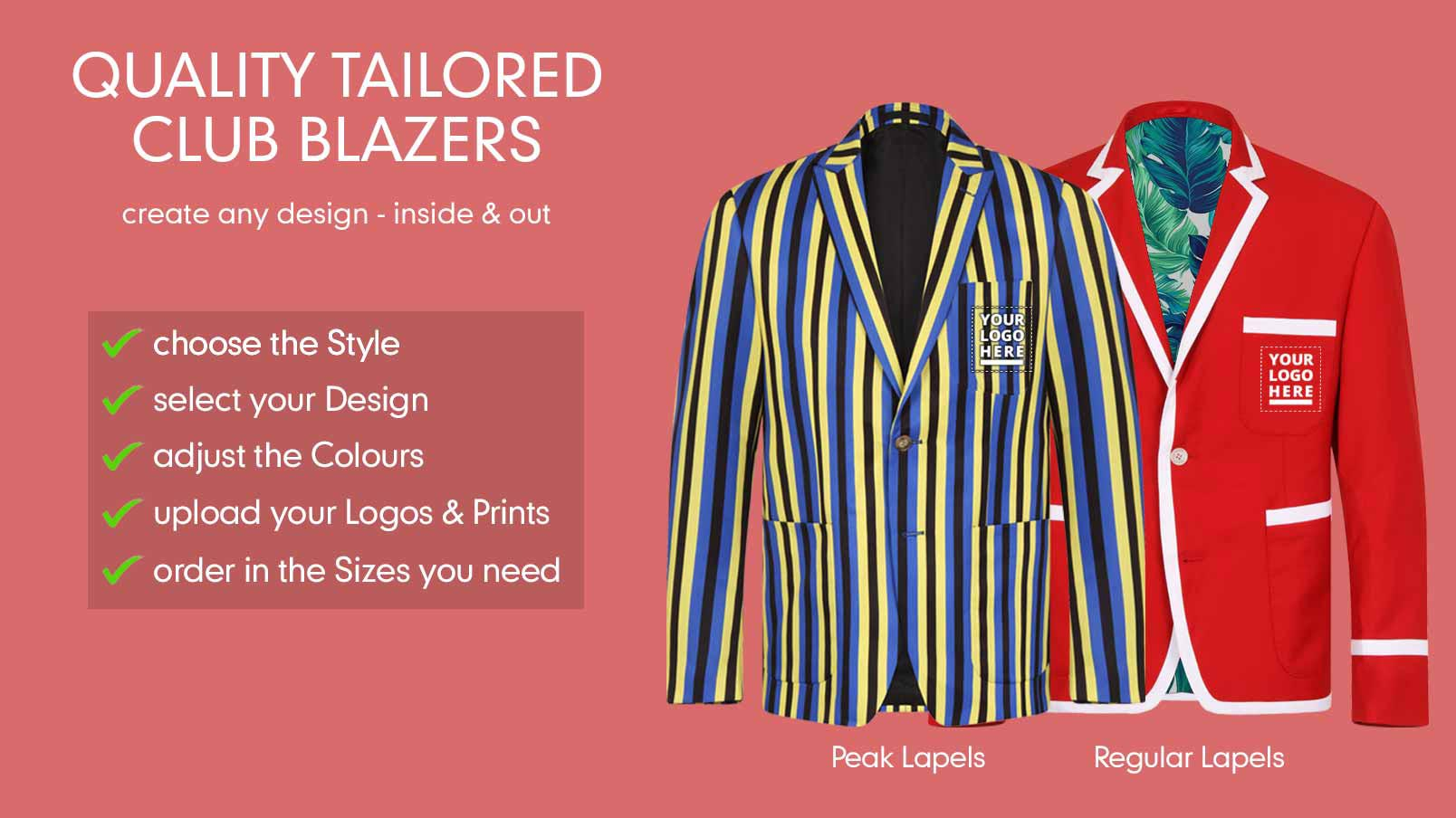 3a33d4c67 Customised Club Blazers - Rugby
