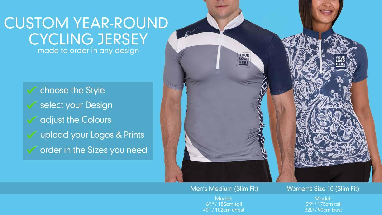 Design Your Own Cycling Jerseys Online  2e290ef06